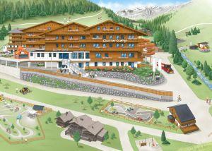 Illustration Webdesign Wellnesshotel Österreich