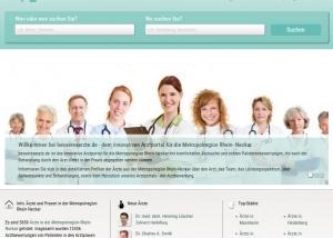 Webdesign Arztportal bessereaerzte.de