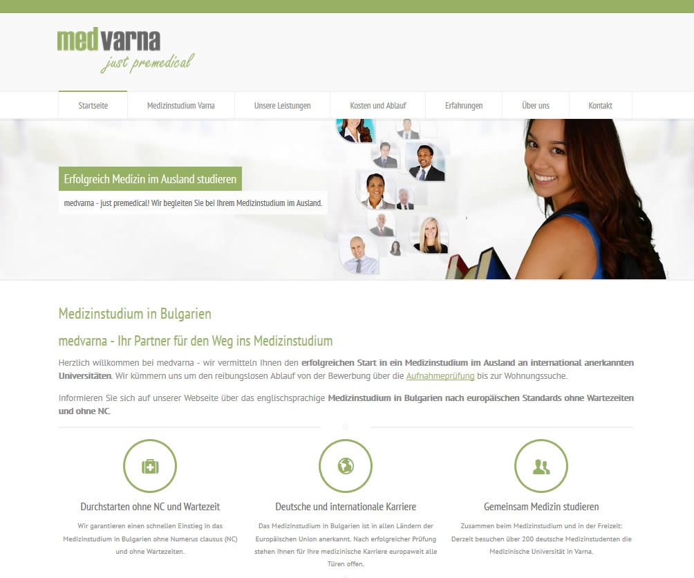 Webdesign Firmenseite & Logoerstellung