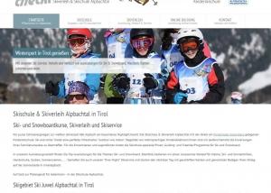 Webdesign Skischule Österreich multilingual