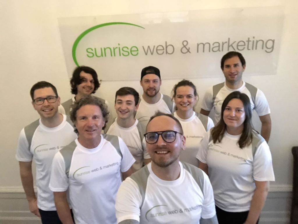 Das Team der Heidelberger Internetagentur Sunrise Web & Marketing